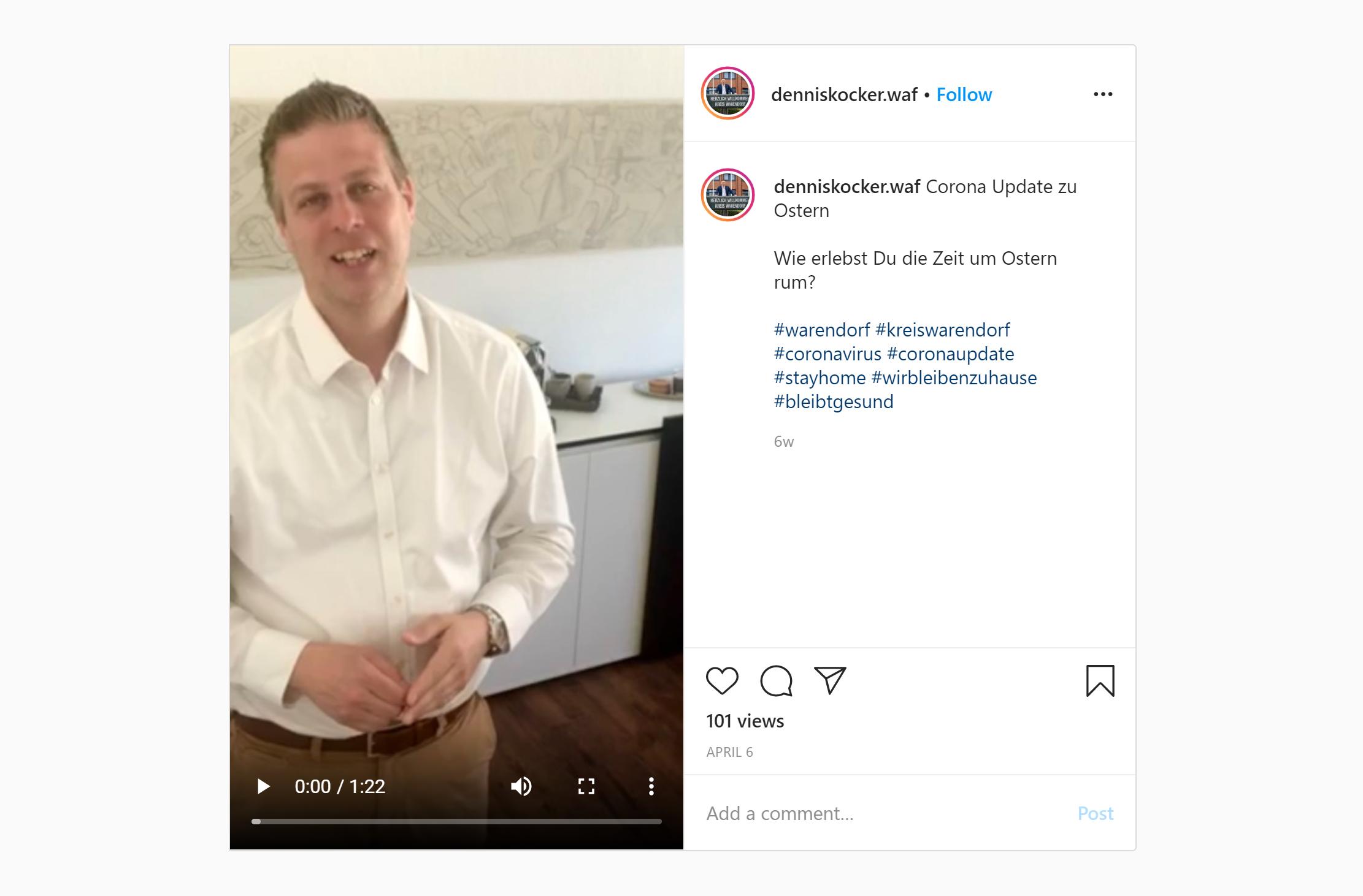 Corona Update zu Ostern – Wie erlebst Du die Zeit um Ostern rum ?