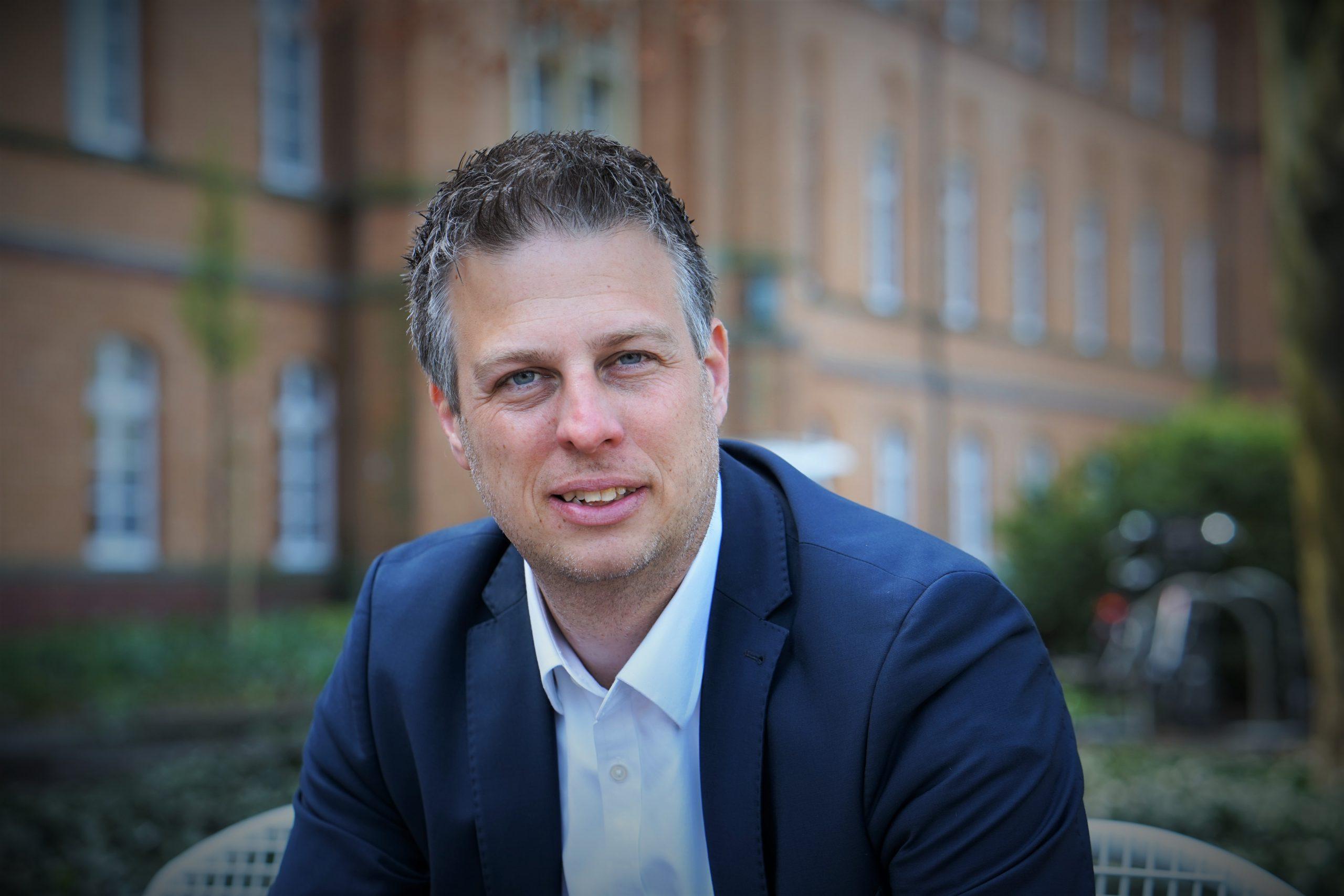 Landratskandidat Dennis Kocker für eine punktuelle Maskenpflicht im Kreis Warendorf.