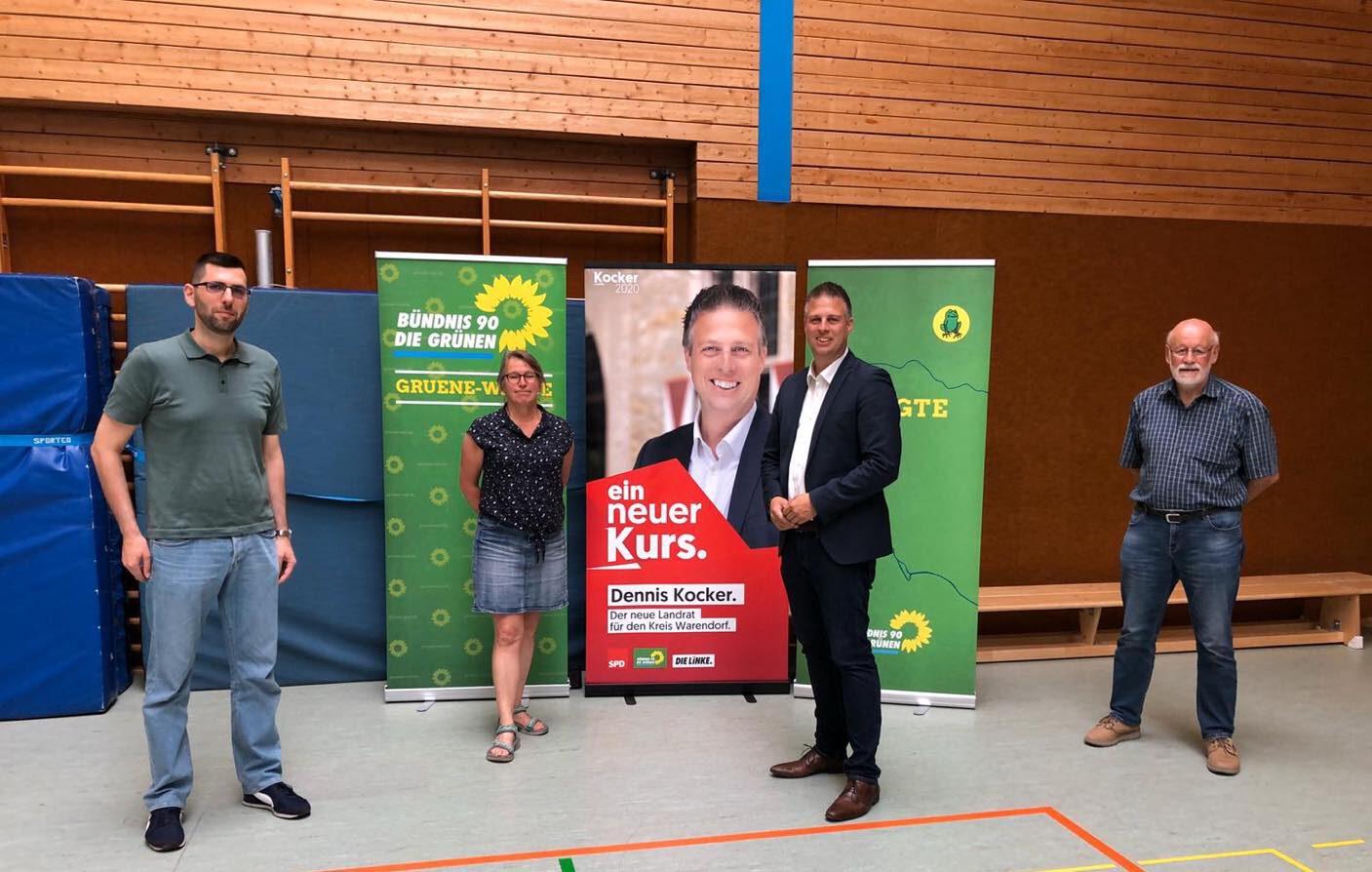 Einstimmige Nominierung durch die Grünen